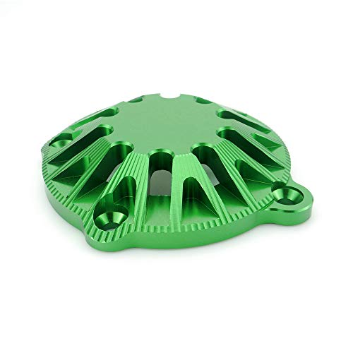 QIDIAN Engine Guard Cover For Kawasaki Z900 Motorcycles Engine Guard Case Saver Cover Engine Stator Case Engine Protective (Green):