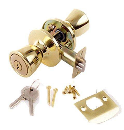 Lion Locks Lico0705 Tulip Entry Door Knob And Keyed Alike
