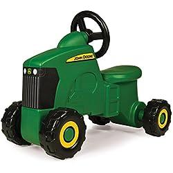 John Deere Sit-N-Scoot Tractor Toy, Green, One Size (Renewed)