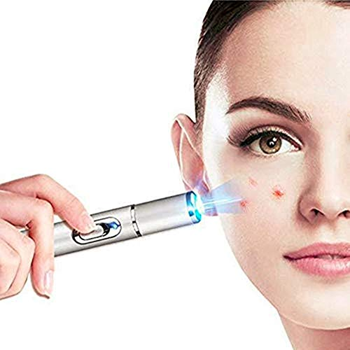 415nm Blue Light Laser Pen Acne Soft Scar Wrinkle T-reatment Remove Face Lifting Skin Care Tool Device