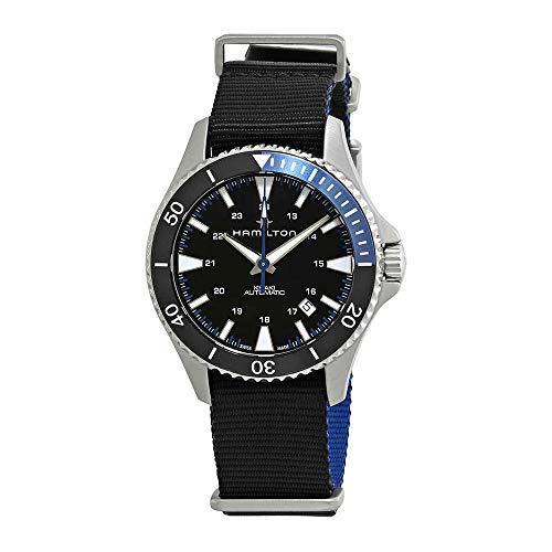 Hamilton H82315931 Khaki Navy Scuba Men's Watch Black 40mm Stainless ()