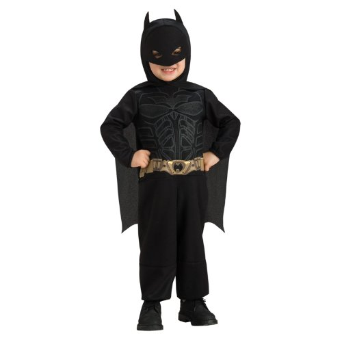 Batman The Dark Knight Rises Toddler Batman Costume,Black,