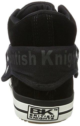 British Riddere Mænd Roco Høj Sneaker Sort (sort) P2m1JD