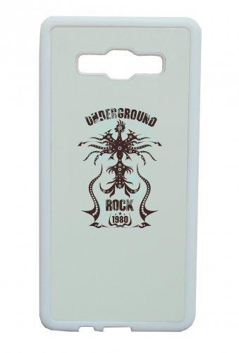 """Smartphone Case Apple IPhone 5/ 5S/ SE """"Underground Rock 1980 Music Rock n Roll Rocker Bike Auto Reise Travel Palmen 80er 90er"""" Spass- Kult- Motiv Geschenkidee Ostern Weihnachten"""