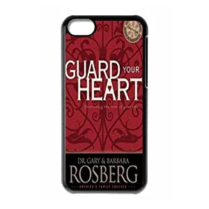 Guard Your Heart New Fashion Case for Iphone 5C, Popular Guard Your Heart Case