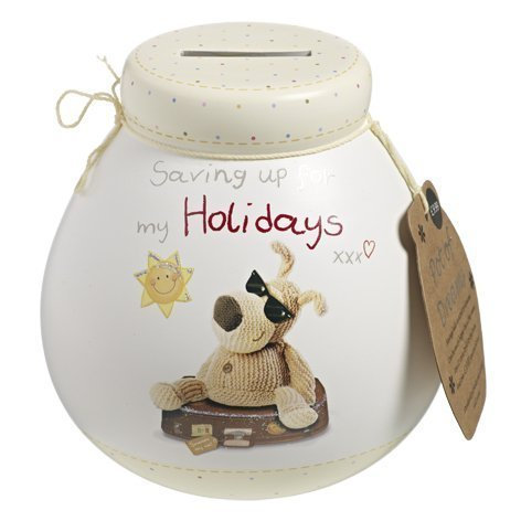 Boofle Pots Of Dreams Money Pot Holiday Fund (401083) Xpressions