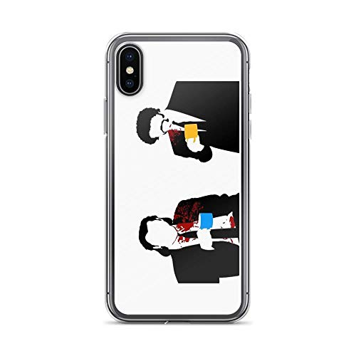 iPhone X Case iPhone Xs Case Clear Anti-Scratch Gourmet, Pulp Fiction Cover Phone Cases for iPhone X/iPhone Xs, Crystal Clear]()