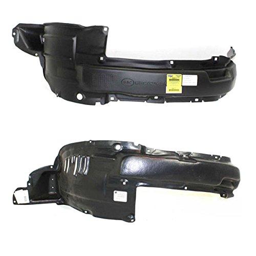 Koolzap For 06-09 4Runner Front Splash Shield Inner Fender Liner Left & Right PAIR SET