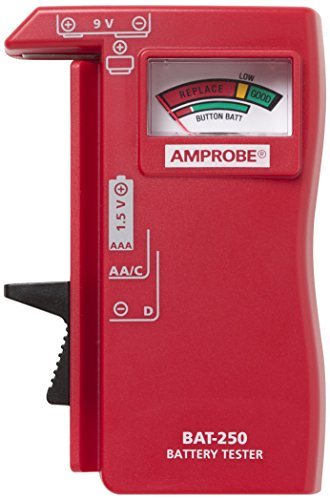 Amprobe BAT-250 Battery Tester Aaa Battery Tester