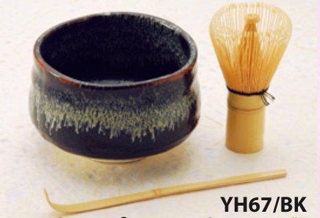 JapanBargain S-2201, Japanese Matcha Tea Ceremony Set Bowl Whisk Chasen YH67