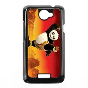 HTC One X Cell Phone Case Black Kung Fu Panda VWA Durable DIY Phone Case