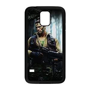 samsung galaxy s5 Black Predator phone case Christmas Gifts&Gift Attractive Phone Case HRN5C322932