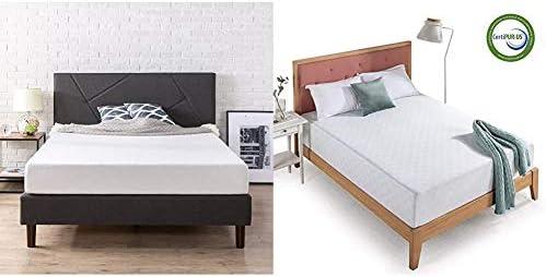Zinus Judy Upholstered Platform Bed Frame