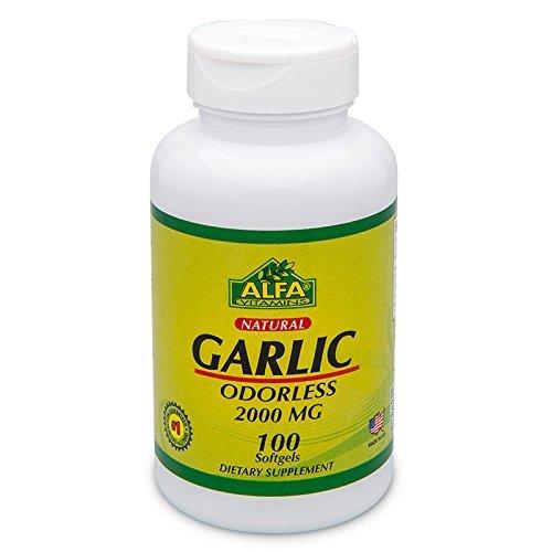 Garlic  2000 Mg 100 Softgels - Cholesterol and Hearth Suppor