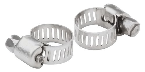 (SeaSense Stainless Steel Hose Clamps, 3/8-Inch to 7/8-Inch Pair)