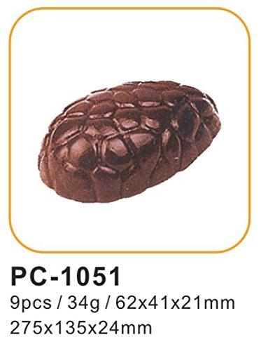 27pcs policarbonato moldes de chocolate para bombones profesionales