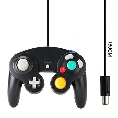 Gamecube Controller Compatible with Nintendo Gamecube Black