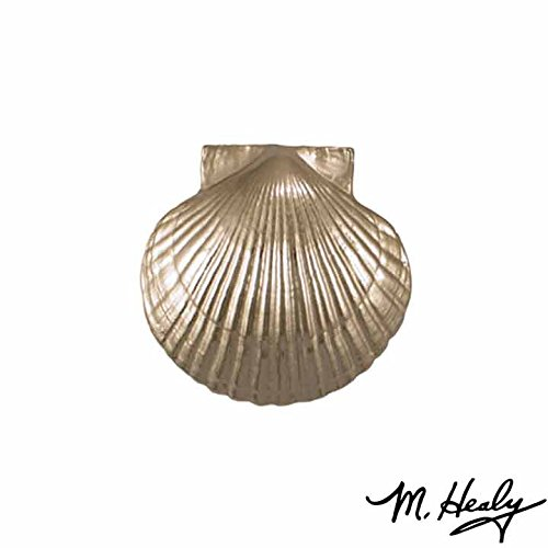 Scallop Bay (Bay Scallop Door Knocker - Nickel Silver (Standard Size))