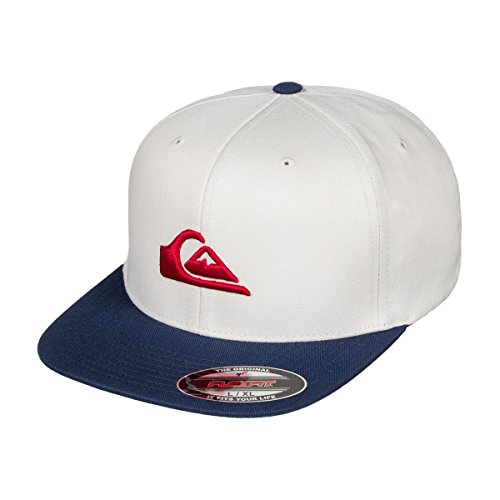 Quiksilver Stretch Hat (Quiksilver Mens Stuckles - Cap Cap White Sm)