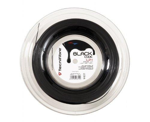 (Tecnifibre Black Code Tennis String 660 ft Reels Size: 16G )