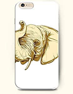 OFFIT iPhone 6 Plus Case 5.5 Inches An Sleepy Elephant