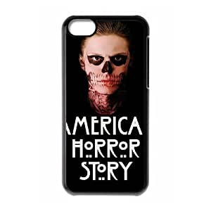 American Horror Story Custom Cover Case with Hard Shell Protection for Iphone 5C Case lxa#275730
