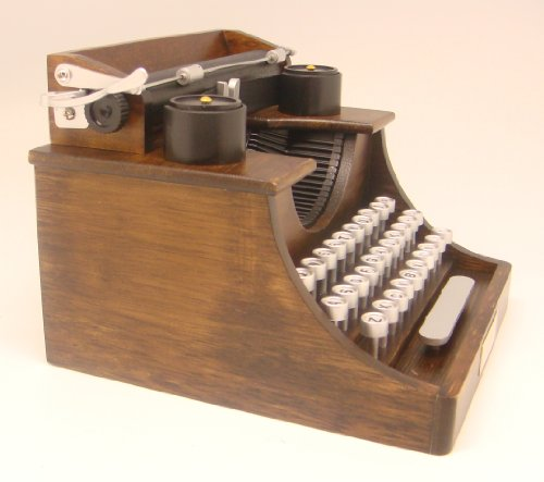 Musical - 4¼ Inch Tall Typewriter 'Yesterday'