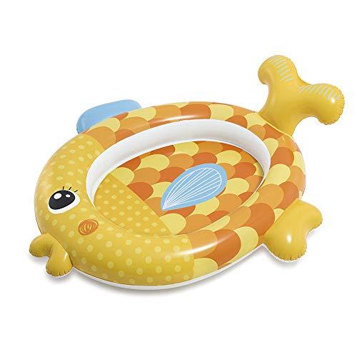 INTEX - Piscina Hinchable, diseño Osito Panda, 117 x 89 x 14 cm, 26 litros (59407NP): Amazon.es: Juguetes y juegos