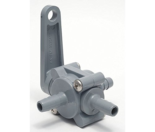 SMC 6807490 PVC Ball Valve, 3-Way, BarbxBarbxBarb, 1/2 In