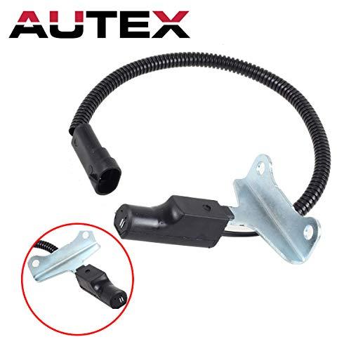AUTEX 1pc Crank Shaft Crankshaft Position Sensor PC38 56027272 Compatible with Jeep Grand Cherokee/Dodge B150 & B250 & B350 & Dakota & Ram 1500 Van & Ram 2500 Van & Ram 3500 Van & B1500 & B2500