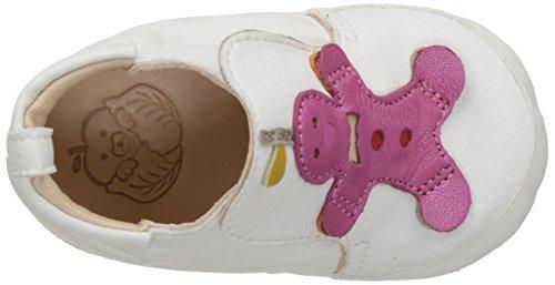 Shoo Pom Chou Cookie - Zapatos Bebé-Niños Blanc (Blanc Multi)