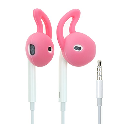 2 Pairs Sport Silicone Cover Anti Sweat Slip for iPhone earpod earphone