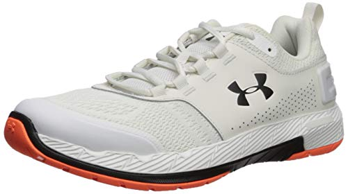 brand new 3a788 29828 Under Armour Men's Commit TR EX Cross Trainer Sneaker, Onyx White  (108)/Black, 10