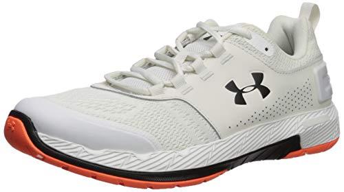 brand new 80340 81ab1 Under Armour Men's Commit TR EX Cross Trainer Sneaker, Onyx White  (108)/Black, 10