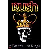 Rush Farewell to Kings Fabric Poster