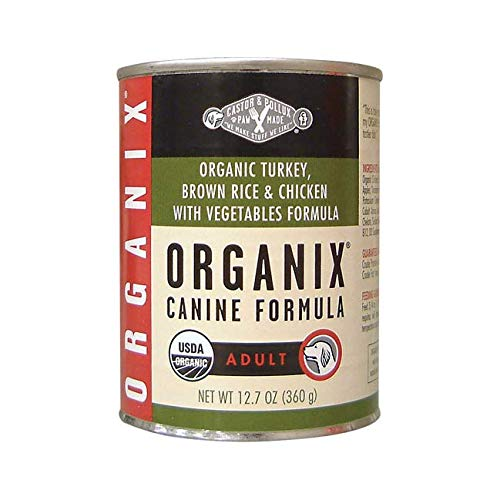 Organix Castor & Pollux, Dog Food Adult Turkey Vegetables Organic, 12.7 Ounce