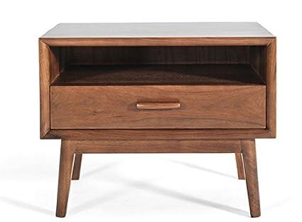 mid century end table Amazon.com: Lewis Mid Century Modern End Table / Night Stand  mid century end table