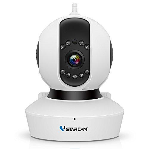 720P IP Camera,VSTARCAM Wireless Security Camera Remote Control Pan/Tilt,Night Vision Video Surveillance Cam,2 Way Audio and Motion Alert Network Indoor Monitor
