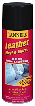 CRC 40173 Tannery Leather, Vinyl & More Cleaner & Conditioner, 10 Wt Oz