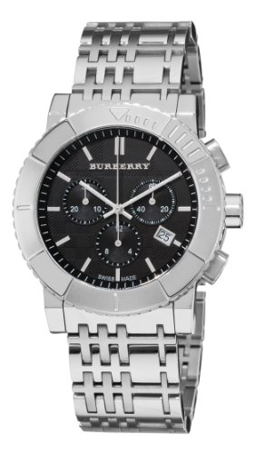 Burberry-Mens-BU2304-Trench-Chronograph-Black-Chronograph-Dial-Watch