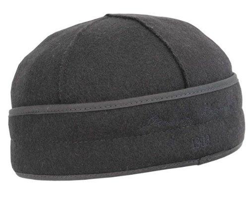 Stormy Kromer Men's Brimless Wool Cap,Black,7.25