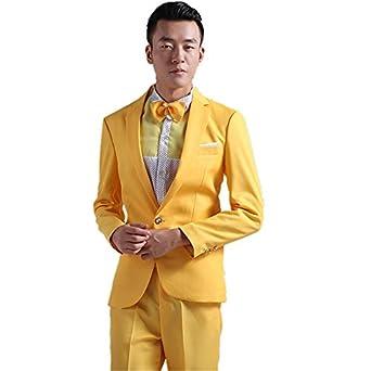 mys Hombre Estilo Coreano Stylish Party Traje pantalón Juego ...