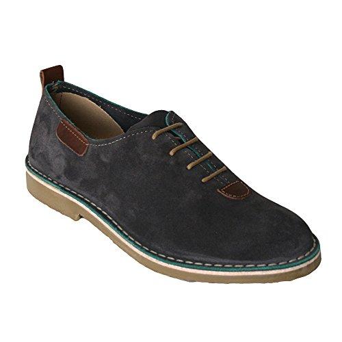 K533 - Zapato piel serraje marengo