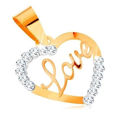 a4f09c181db7 Ordoš® Diamonds® Colgante hecho de oro amarillo 585
