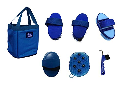 Barn&Stable Horse Grooming Set Grooming Kit (Royal Blue)