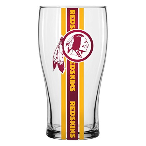 Washington Redskins Pub Glass 20 oz.
