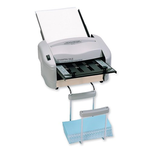 Martin Yale P7200 RapidFold Auto Feed Desktop Folder, Grey, For Use with 8 1/2
