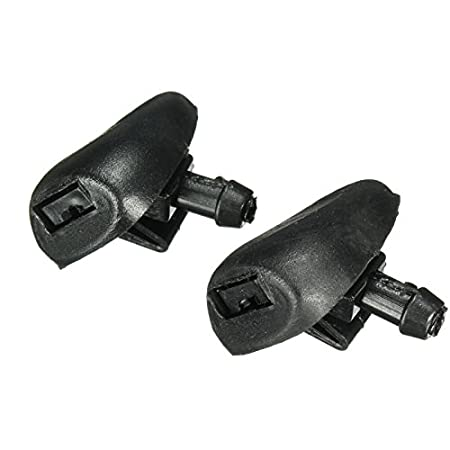 Amazon.com : Pukido Pair Windscreen Window Wiper Water Washer Jets Nozzle for Peugeot 407 6438Z1 : Sports & Outdoors