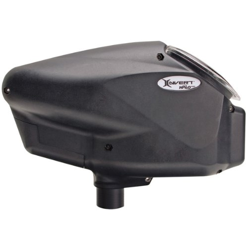 Empire Paintball Halo Too Loader, Matte Black ()