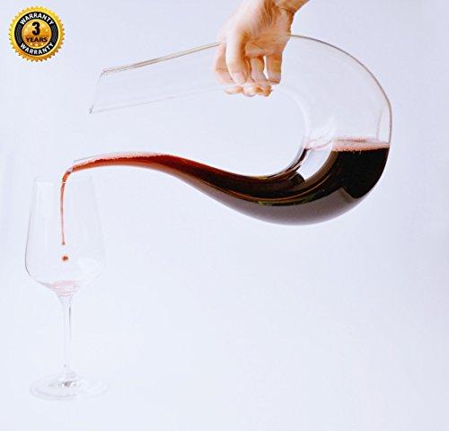8 oz wine carafe - 7